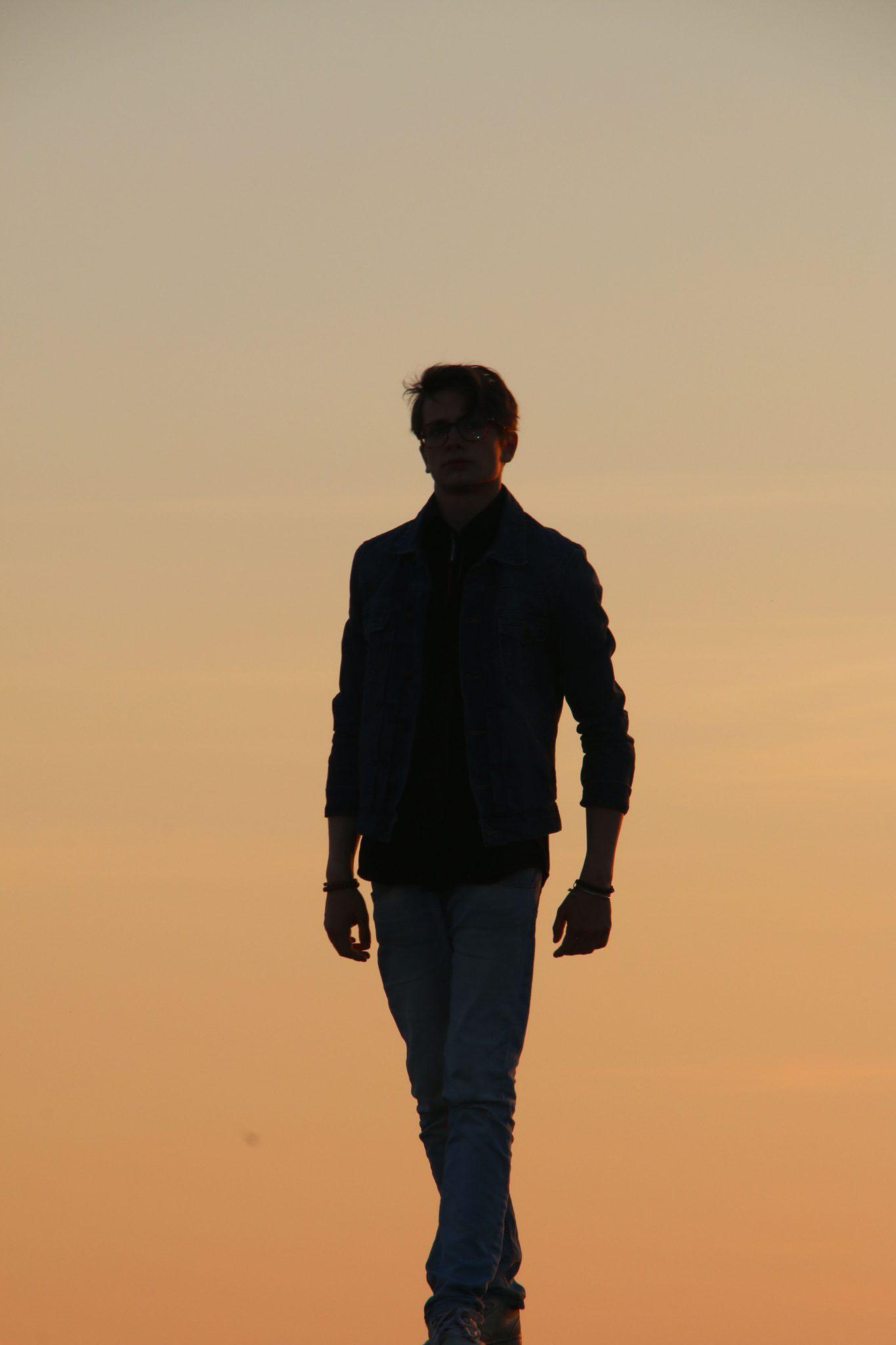 Anton Forsdik walk in sunset