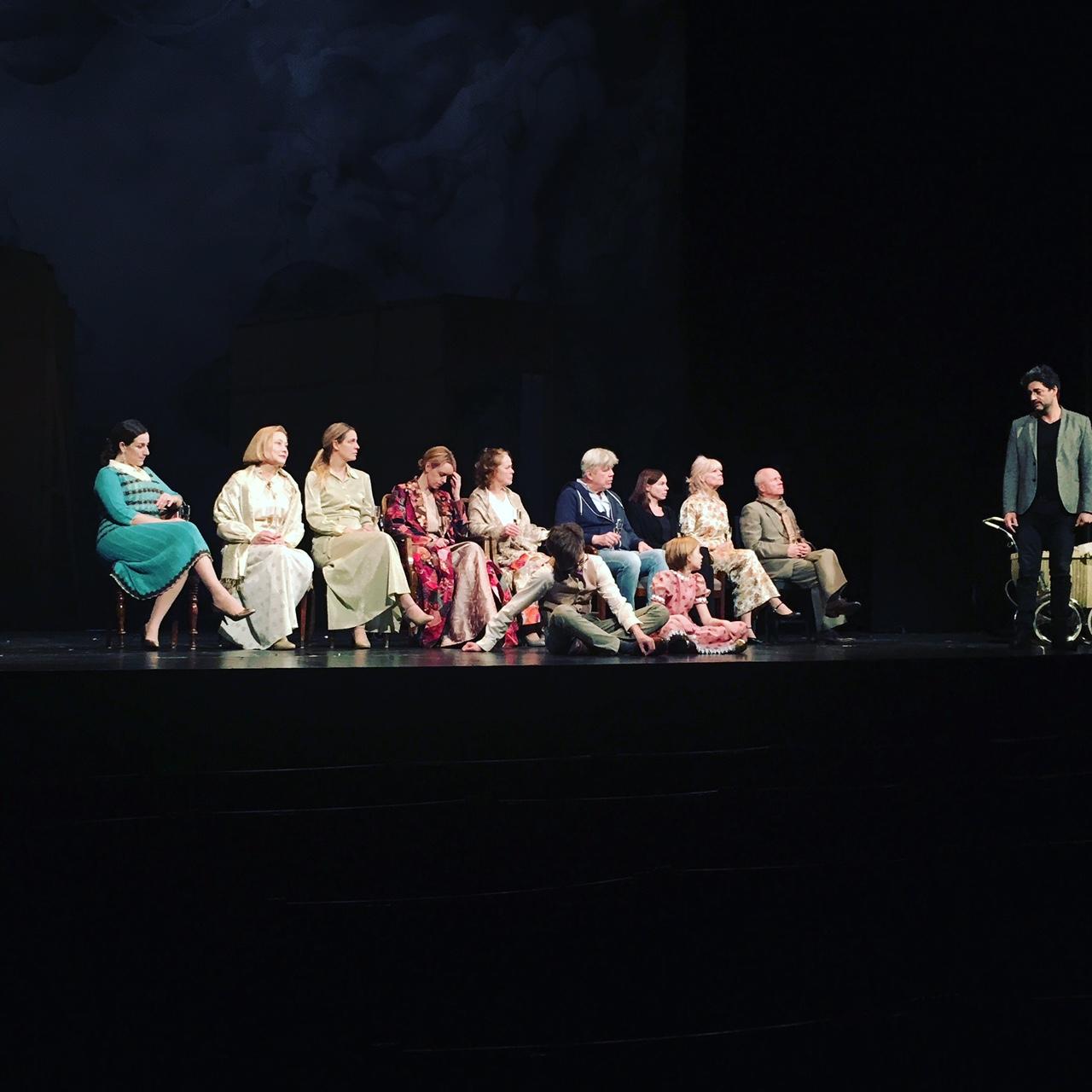 Anton Forsdik, Dramaten, Fanny och Alexander